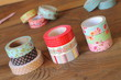 Colorful washi tapes - 63786206