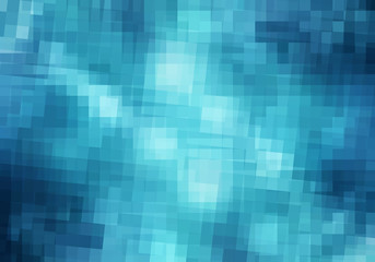 .Abstract pixelated background
