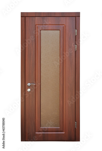 brown door