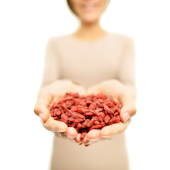 Goji berries - dried Goji berry heap / wolfberries