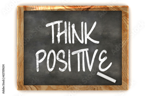 Think Positive Blackboard