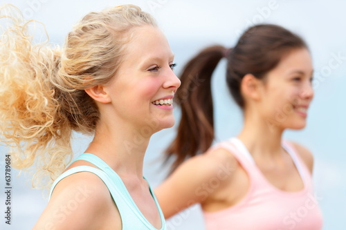 Running women runners