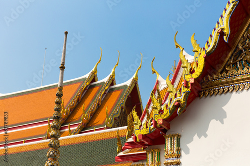 Wat Pho Temple Roof