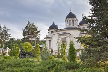 Orthodox church in spring