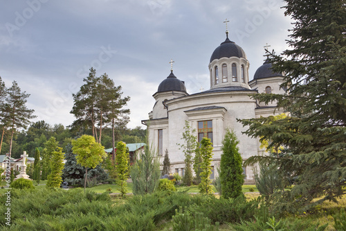 Orthodox church in spring