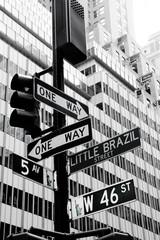 Placa Nova York