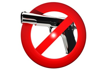 Gun Carrying Prohibited
