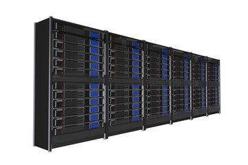 Isolated Servers Rack