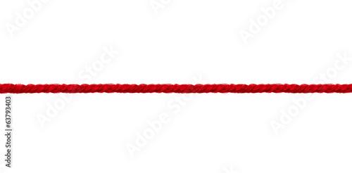 Leinwanddruck Bild wool string rope cord cable line