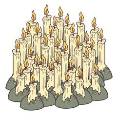 Vintages candles