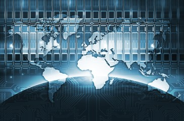 Digital World Concept