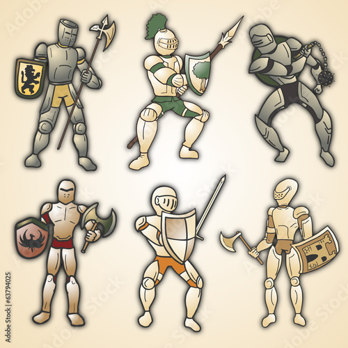 Medieval warrior collection
