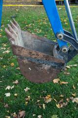 Bucket of backhoe