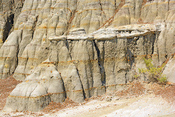 Eroded Rock in the Badlands