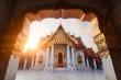 temple de marbre, Bangkok, Thaïlande