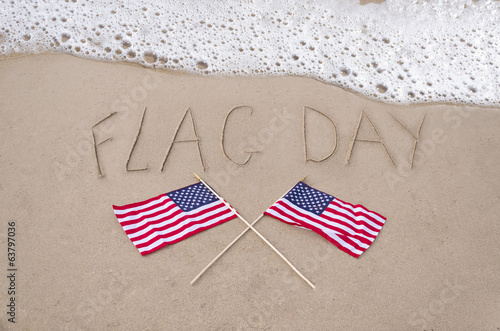Flag day background