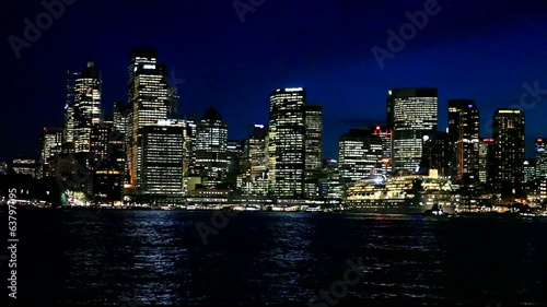 Skyline by night