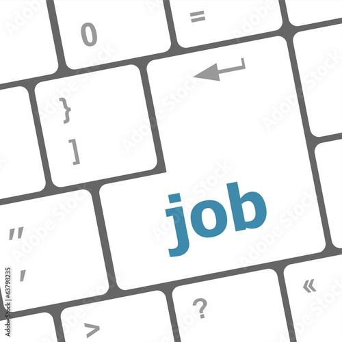 Job button on keyboard keys
