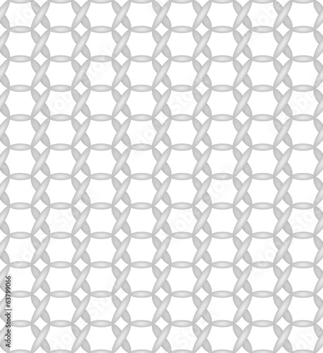 Simple Seamless Pattern of a Hexagon shaped textile Weave
