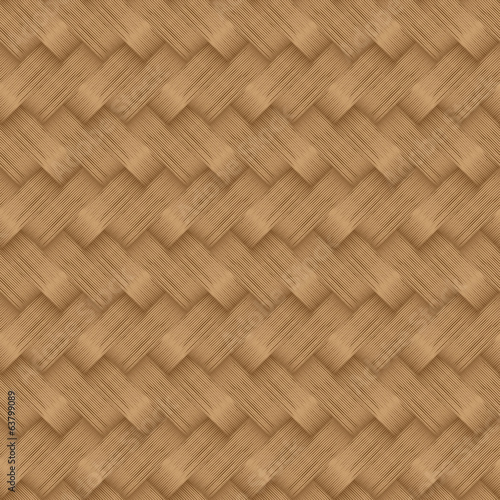 Seamless Pattern of a Diagonal Wicker Basket Weave with texture