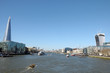 View from Tower Bridge of Shard and Walkie-talkie building