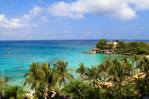 Scenery of resort island,Boracay