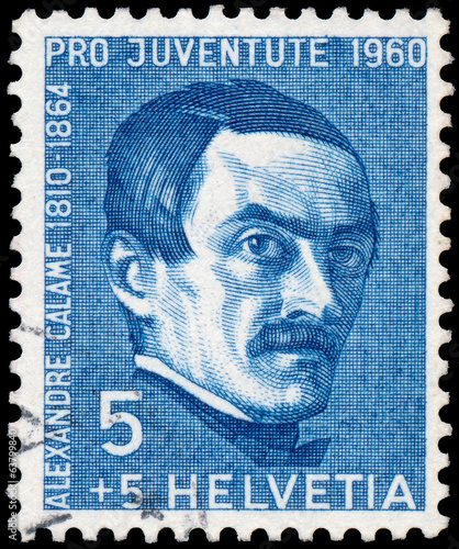 Stamp printed in the Switzerland shows Pro Juventute