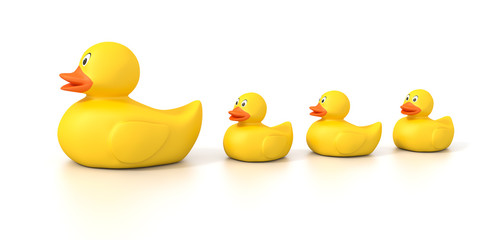 rubber duck family