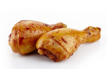 Roasted chicken legs