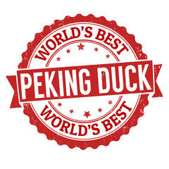 Peking duck stamp