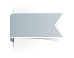 Schild Aufkleber grau