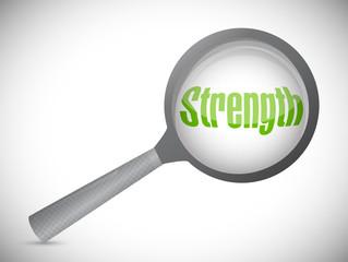 strength under review illustration design