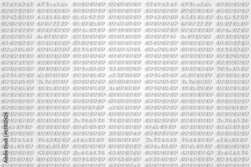 hex codes vector background
