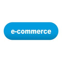 Etiqueta alargada azul e-commerce