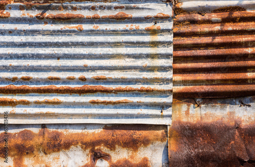 canvas print picture rust zinc plate