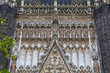 Seville Cathedral facade Closeup view
