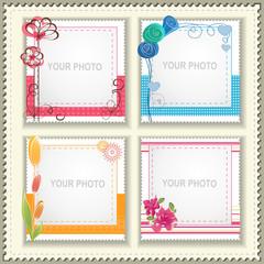 Festive photo frame
