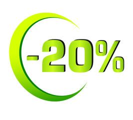 Rabatt - 1 - 20%