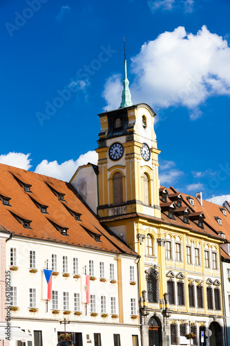 town hall of Cheb, Czech Republic