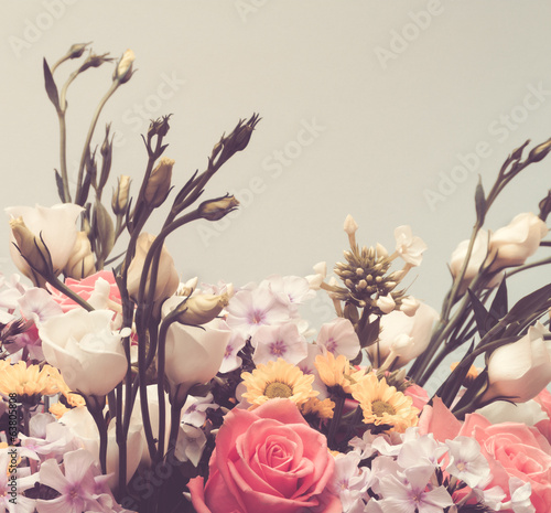 Vintage Flower Bouquet