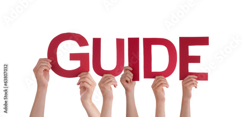 People Holding the Word Guide