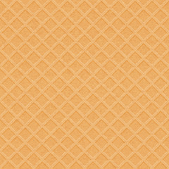 Waffle texture - vector background.