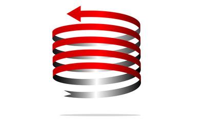 freccia spirale