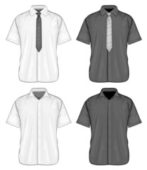 Short sleeve dress shirts