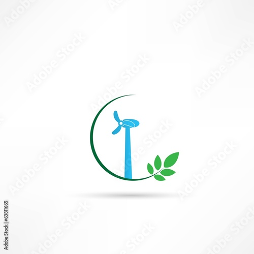 wind turbines icon
