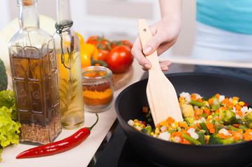 Food preparation.