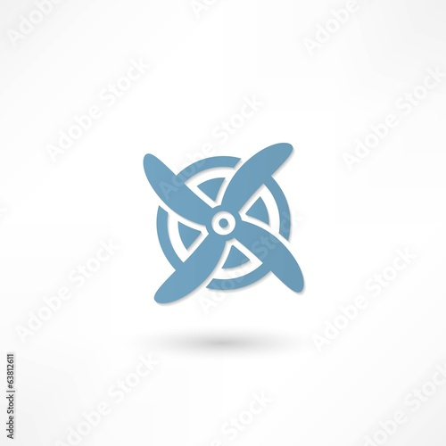 Fan Ventilator Vector icon
