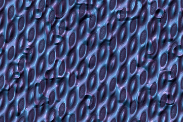 Shiny metallic patterned cells texture C. Abstract background.