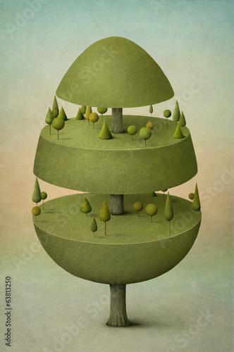 Easter card, wood, and egg.