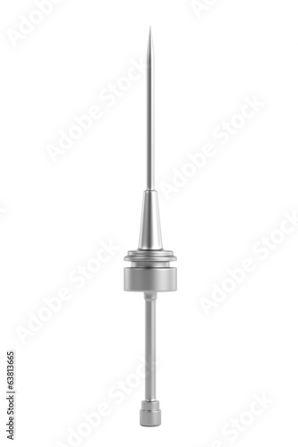 realistic 3d render of lighting rod